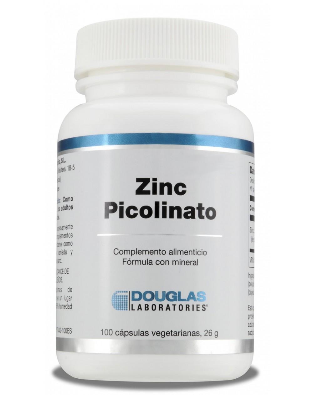 Picolinato de Zinc 100 cáps.