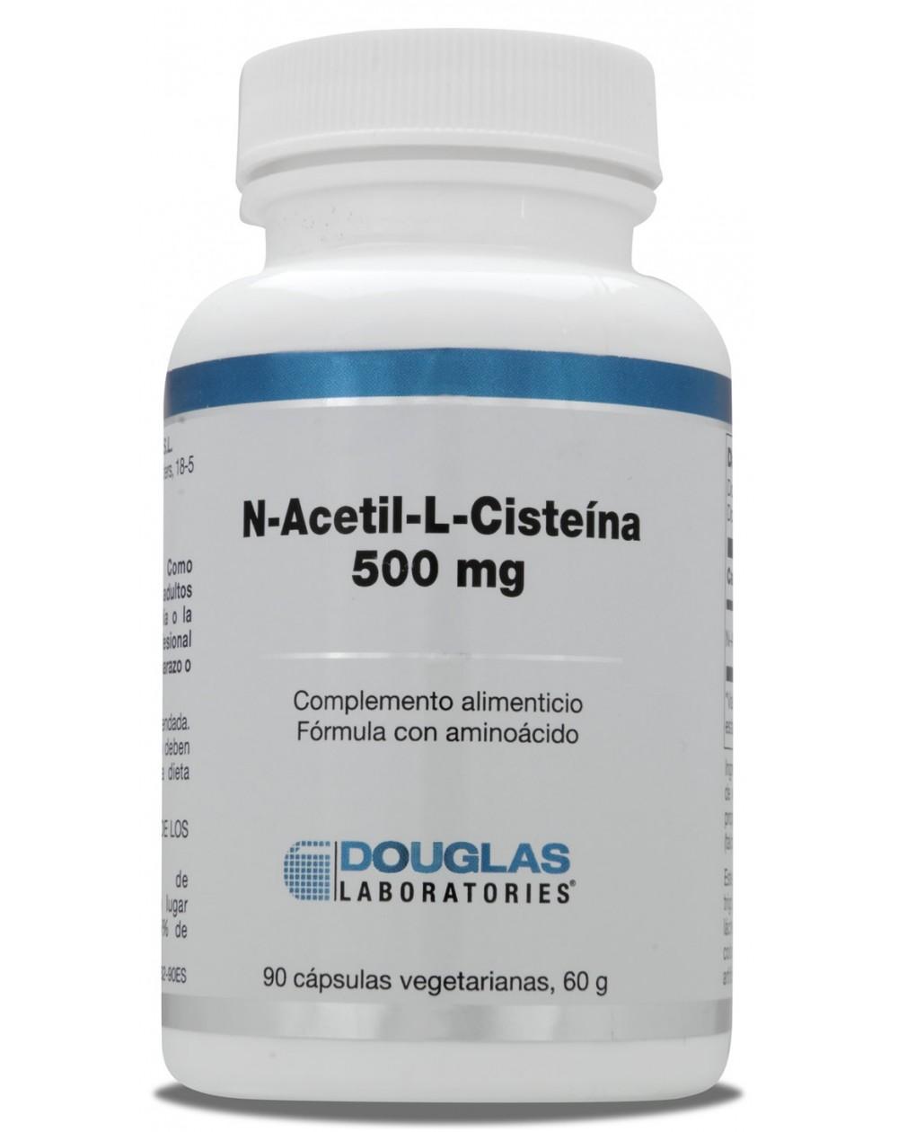 N-acetil-L-cisteina 500 mg (90 cáps.)