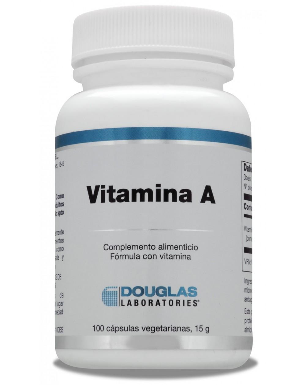 Vitamina A 4.000 UI (100 perlas)