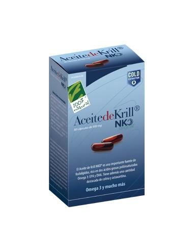 Aceite de Krill NKO, 80 capsulas (500mg)