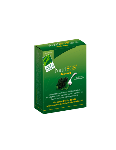 NutriSGS® activado , 30 capsulas