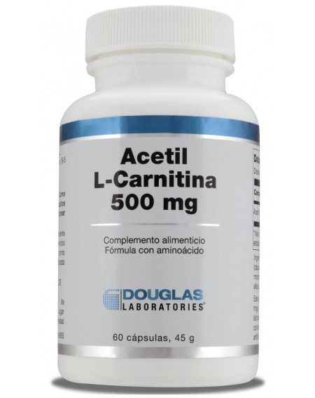 Acetil L-Carnitina (60 cáps)