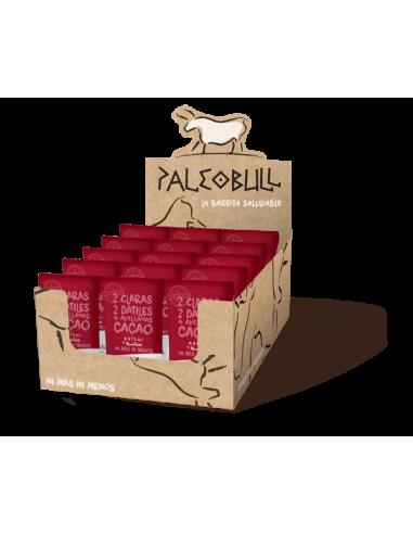 Pack Barritas PaleoBull Cacao y Reishi