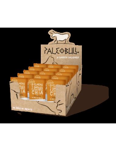 Pack Barritas PaleoBull Naranja y Chía