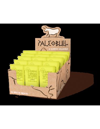 Pack Barritas PaleoBull Limón, Goji y...