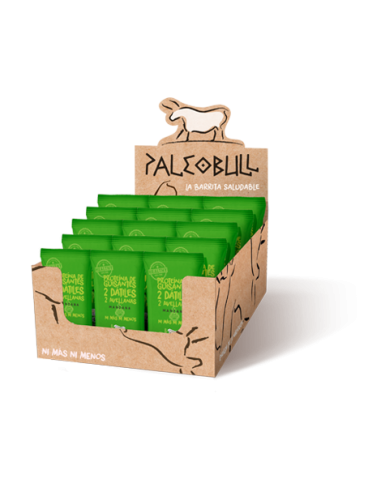 Pack Barritas PaleoBull Manzana Vegana