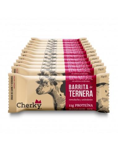 Display Cherky Beef. 12 Barritas de...