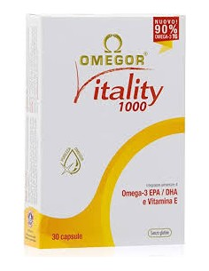 Omegor Vitality 1000 30 perlas