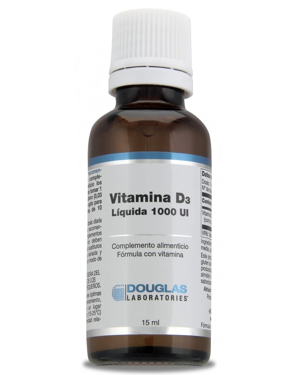 Vitamina D-3 líquida 1.000 UI