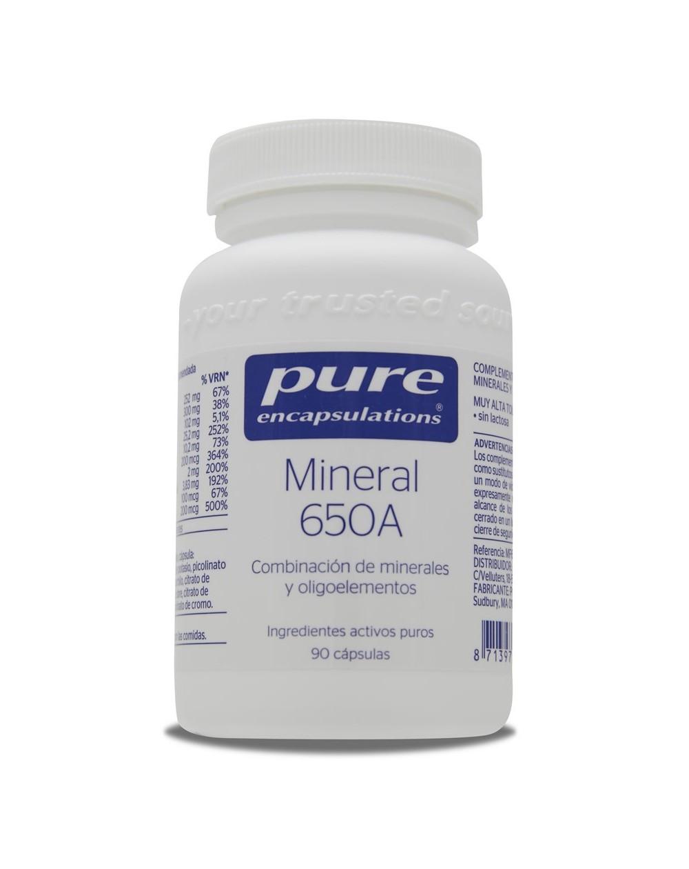 Mineral 650A (90 cápsulas)