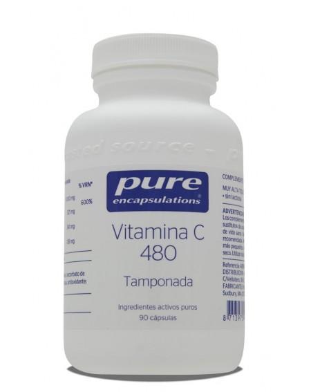 Vitamina C 480 Tamponada